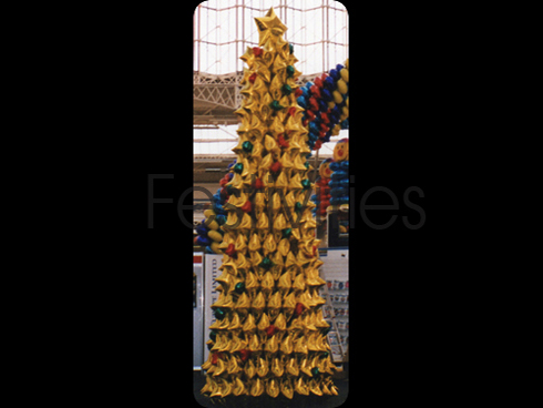 Gold Foil Christmas Tree