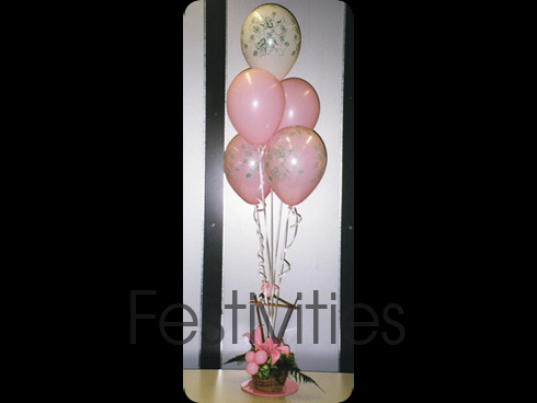 Pink Balloon Arrangement