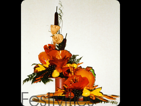 Balloon Autum Arrangement